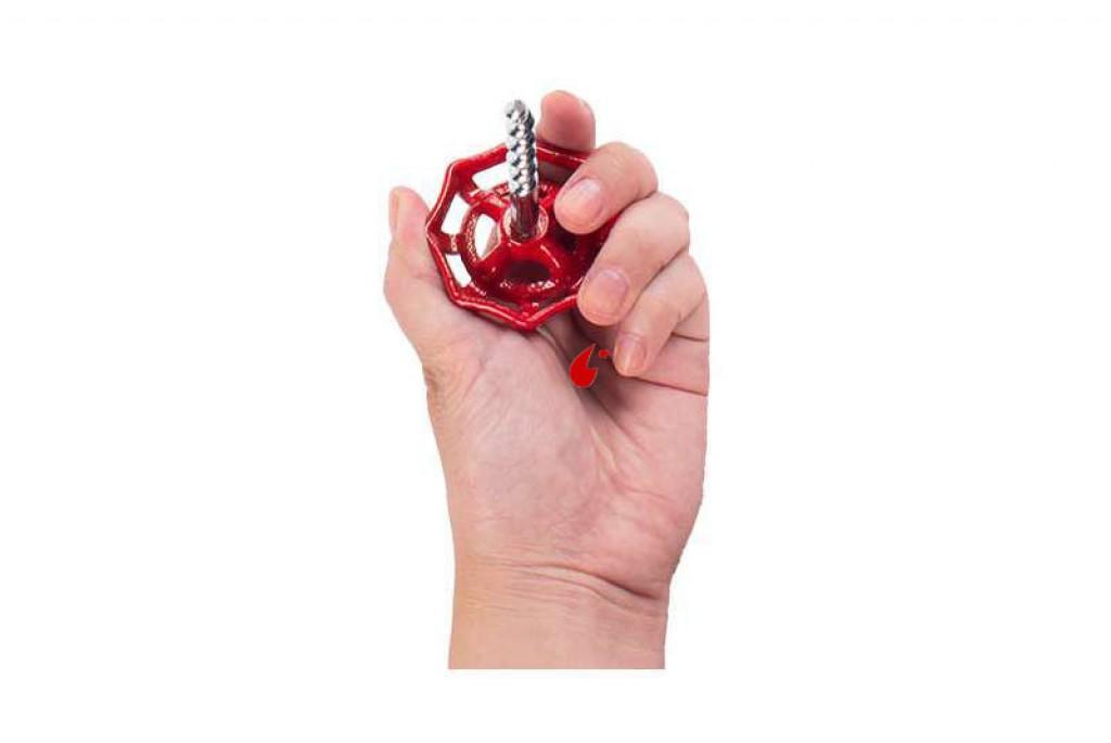 Sacacorchos Diseño Válvula