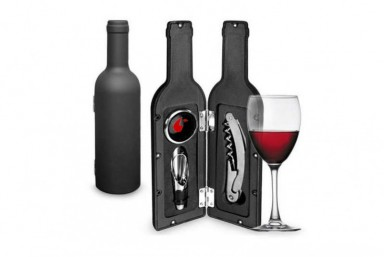 Estuche Vino forma Botella