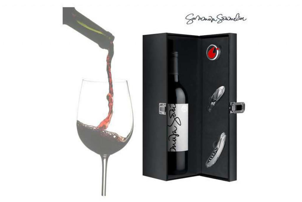 Estuche de Vino con Accesorios Summum Sommelier