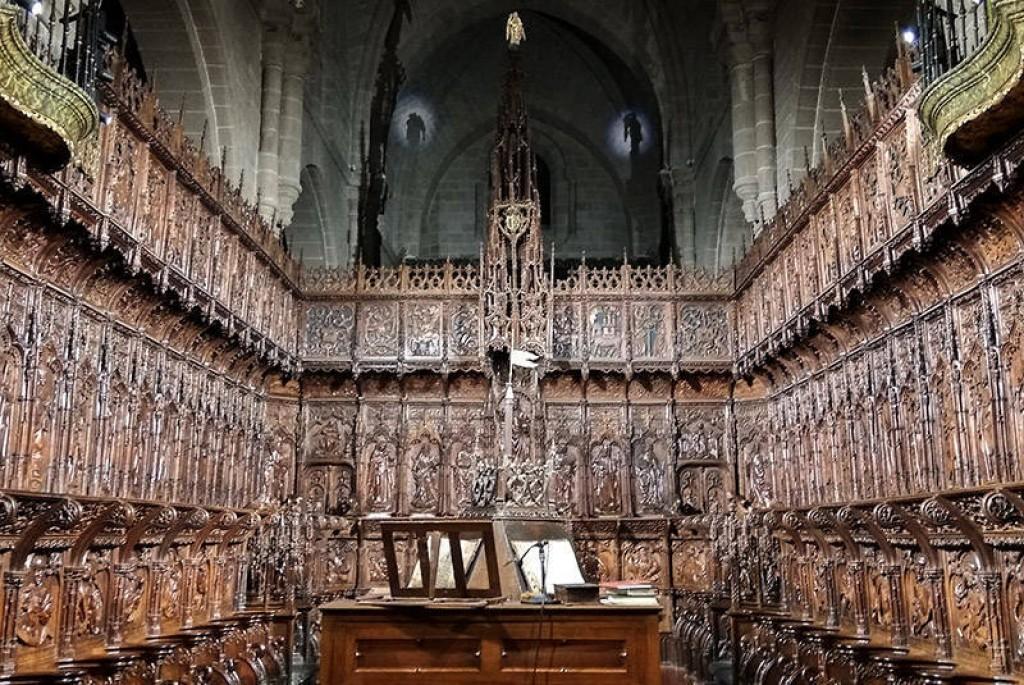 catedral de Zamora interior
